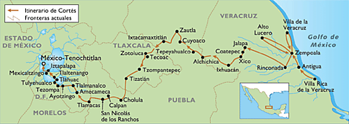 Route of cortes