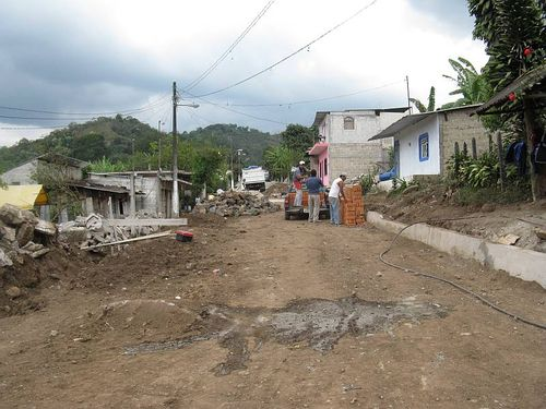 Street repair from other end