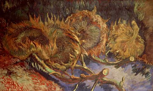 Gogh.4-sunflowers