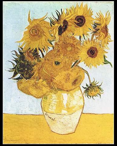 Gogh.12-sunflowers