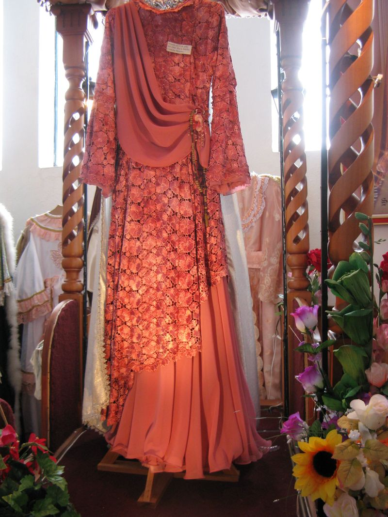 Apricot 2004 gown