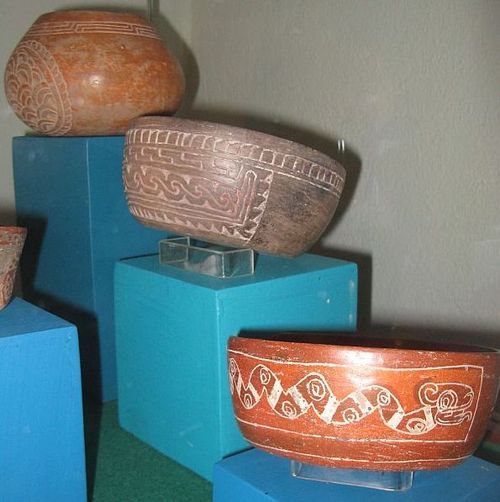 Three pots in museo