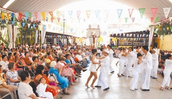Fiesta in pavilion another year